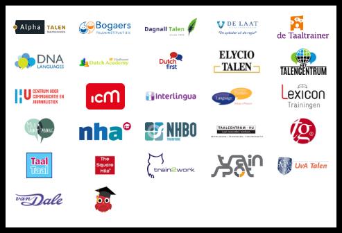 bekijk alle opleiders van Nederlandse taalcursussen met de tel mee voor taal subsidie